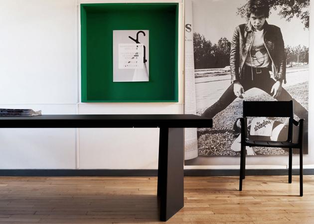 Modern industrial furniture purely industrial modern - Konstantin Grcic Plays With Unit 233 D Habitation Design